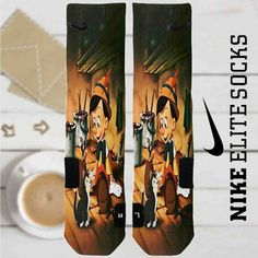 Disney Pinocchio Custom Nike Elite Socks