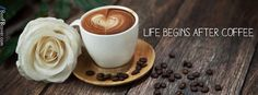 life with coffee facebook cover