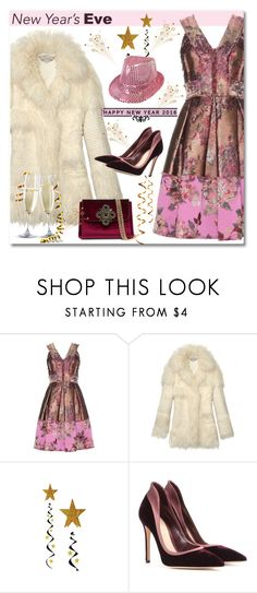 """New Year's Eve"" by anne-irene ❤ liked on Polyvore featuring Michael Kors, Erdem, STELLA McCARTNEY, Gianvito Rossi, Bebe, women's clothing, women, female, woman and misses"