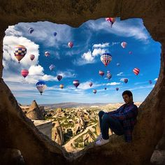 Cappadocia, Turquia.