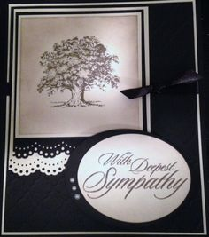 Sympathy Card- Lovely as a Tree
