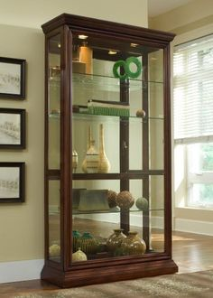 Luxury Double Door Curio Cabinet