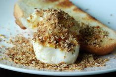 Egyptian Eggs with Dukkah - Just learned about these from a guest....