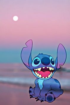 Disney Lilo & Stitch Galaxy Stitch Sticker, Stitch