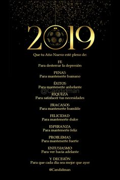 Happy New Year Images, Happy New Year 2019, Quotes To Live By, Love Quotes, Wedding Anniversary Wishes, Hotel California, Spanish Quotes, Christmas And New Year, Wise Words