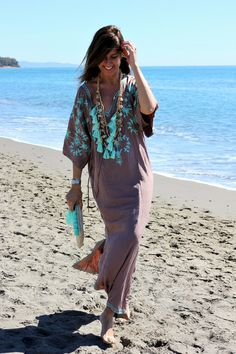 sand and turquoise - Mytenida - StyleLovely