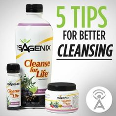 Do you struggle with Cleanse Days? Check out the latest Isagenix podcast to learn 5 tips to help you conquer your Cleanse Day!