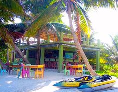 1. Summer Fun ~ Have some fruiti drinks and fun at a colorful Summer beach bar!