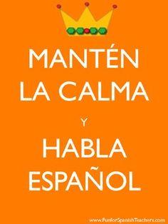 FREE FUN SIGNS TO DECORATE YOUR CLASSROOM {SPANISH} - TeachersPayTeachers.com
