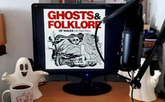 """GHOSTS & FOLKLORE OF WALES WITH MARK REES PODCAST: Join author and cultural adventurer Mark Rees (""""Ghosts of Wales"""", """"Parnormal Wales"""", """"The A-Z of Curious Wales"""" etc.) for a curious journey through the weird and wonderful history of Wales and the world. From 'most haunted' castles to fairy-filled forests, discover long-lost cases of pesky poltergeists, sea-faring folk tales of mermaids and water horses, and ancient tales from the Mabinogion and landmarks associated with King Arthur and Merlin. Spooky Stories, Ghost Stories, History Of Wales, Haunted Castles, Haunted History, Most Haunted, King Arthur, Weird And Wonderful, Adventurer"""