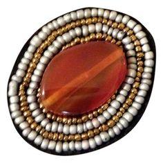 Cayetano Legacy Cabochon Brooch, $17.50 via @Tradesy.com