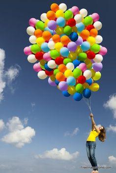Volando! 26 #colorful #ballons