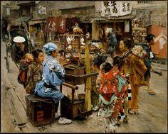 【画像あり】私たちが知らない江戸「日本を愛した19世紀の米国人画家」が描いた、息遣いすら感じる美しき風景 : 暇人\(^o^)/速報