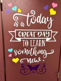 34 Trendy bathroom door quotes school Source by School Hallways, School Murals, School Doors, I School, School Teacher, School Ideas, School Office, Middle School, Bathroom Mural