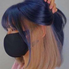 Hair Color Streaks, Hair Color And Cut, Hair Dye Colors, Cool Hair Color, Pelo Popular, Hair Inspiration, Hair Inspo, Edgy Hair, Dye My Hair