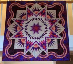 Glacier Star, Quiltworx.com, Made by Gwen Kelsey