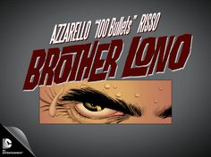 Azzarello And Risso Return To '100 Bullets' With 'Brother Lono' Miniseries In June