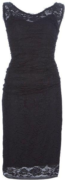 DOLCE GABBANA Lace Dress - Lyst