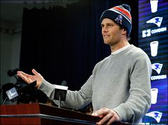 Brady, knows he likes his footballs at precisely 12.5#psi ... but never thought about it once the game started? Because... phhttt.. its just the AFC Championship after all. Plausible deniability just went to the Defcon3 level into IMplausible. Dodgy words leave dodgy taste in the mouth.