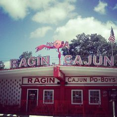 Ragin Cajun - Best crawfish in Houston hands down.
