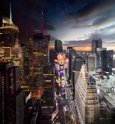 New Years Eve, New York City