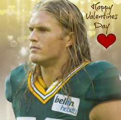 Clay Matthews III of the Green Bay Packers.  2 of my Loves: Clay & Packers #PinYourLove