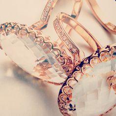 Ivanka Trump rose gold fine jewelry.