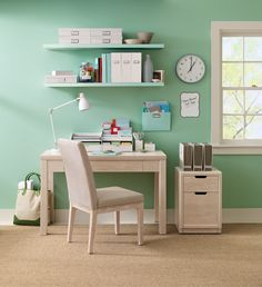 Clean, modern furniture to get beautifully organized