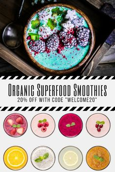 Ready-to-Blend Smoothies! Just add almond milk or coconut milk and it's ready in less than 30 seconds.