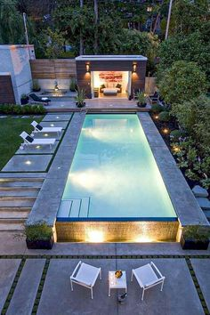 35 Modern Pool Deck Designs for Your Backyard Backyard ideas landscape a. - 35 Modern Pool Deck Designs for Your Backyard Backyard ideas landscape architecture 35 Mode - Small Swimming Pools, Small Backyard Pools, Small Pools, Swimming Pools Backyard, Modern Backyard, Swimming Pool Designs, Pool Decks, Backyard Landscaping, Outdoor Pool