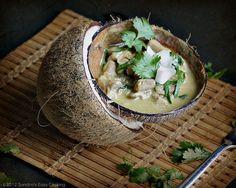 Thai Green Chicken Curry  @Sandra