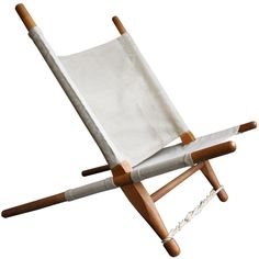 A very comfy beach chair... Saw Chair by Ole Gjerloev-Knudsen