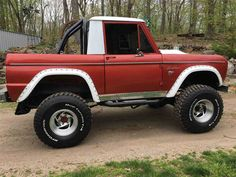 1967 Ford Bronco Half Cab (CT) - $32,500 Contact: Larry 860-205-7394