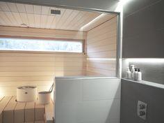 Sauna Modern Saunas, Sauna Design, Finnish Sauna, Sauna Room, Steam Spa, Cold Shower, Spa Rooms, Scandinavian Interior, Beautiful Homes