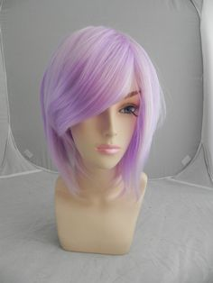 ON SALE / Short Straight A Line Wig  Beautiful Luscious by ExandOh, $62.90