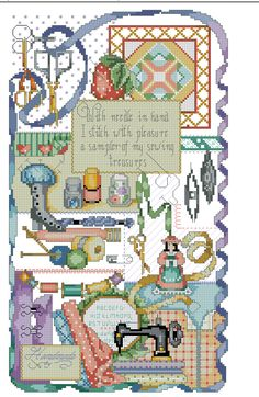Kreuzstich Cross Stitch Cards, Cross Stitch Samplers, Cross Stitch Embroidery, Embroidery Patterns, Couture, Needlework, Vintage World Maps, Kids Rugs, Quilts