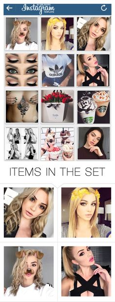 """""""Jess's Instagram"""" by animewolf-354 ❤ liked on Polyvore featuring art"""