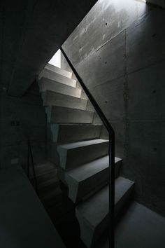 View the full picture gallery of Ryusenji House Chiaroscuro, Architecture, Stairs, Minimalist, The Originals, Pictures, House, Architectural Photography, Design