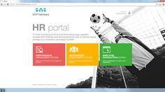 SharePoint Intranet on Behance - HR portal Sharepoint Design, Sharepoint Intranet, Intranet Design, Portal Design, User Experience, Web Design Inspiration, Management, Behance, People
