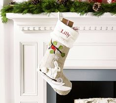 Woodland Stocking Collection | Pottery Barn Kids