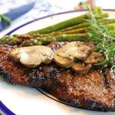 Grilled Delmonico Steaks Allrecipes.com Tried it, pretty good!