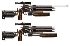Weapon Design from Metro 2033