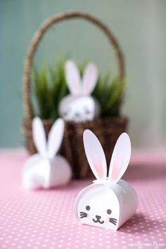Printable Easter Bunny Treat Boxes