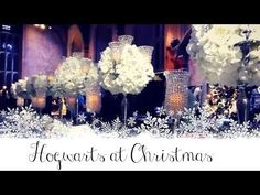 Hogwarts at Christmas - (Zoella vlog) this might not help much, but it shows some stuff from Warner Bros. Studio. Zoe was an extra in Sorcerer's Stone