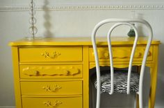 what a lovely coat of mustard paint can do.