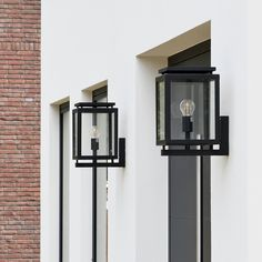 Wall Lights, Black Wall Clock, Large Wall Clock, Exterior Lighting, House Exterior, Candle Sconces, Wall Clock Wooden, Wall, House And Home Magazine
