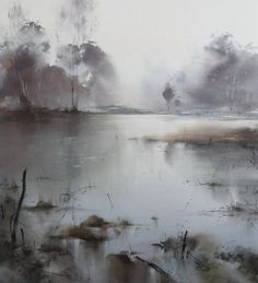 Ilya Ibryaev - Forest Lake - watercolor (54х48) cm . (scheduled via http://www.tailwindapp.com?utm_source=pinterest&utm_medium=twpin&utm_content=post48040924&utm_campaign=scheduler_attribution)