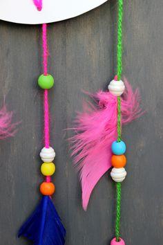dream catcher feathers