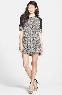 French Connection 'Sahara' Textured Shift Dress available at #Nordstrom