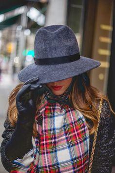 hat + scarf + gloves